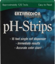 Enzymedica pH-Strips, 15 foot single roll dispenser