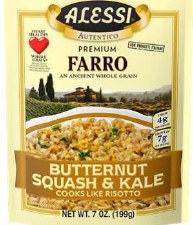 Alessi Butternut Squash Farro, 7 oz.