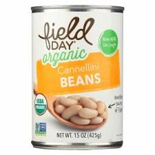 Field Day Organic Cannellini Beans, 15 oz.
