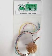 From the Field Stella the Cork Comet Cat Toy