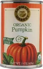 Farmer's Market Organic Pumpkin, 15 oz.