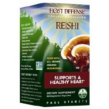 Fungi Perfecti Host Defense Reishi, 60 vegetarian capsules