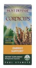 Fungi Perfecti Host Defense Cordycep Energy Support, 60 vegetarian capsules