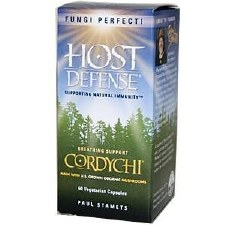 Fungi Perfecti Host Defense CordyChi, 60 vegetarian capsules