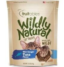 Fruitables Wildly Natural Tuna Cat Treats, 2.5 oz.