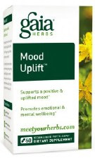 Gaia Herbs Mood Uplift, 60 capsules