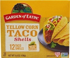 Garden of Eatin' Yellow Corn Taco Shells, 5.5 oz., 12 taco shells