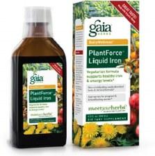 Gaia Herbs PlantForce Liquid Iron, 8.5 oz.