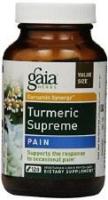 Gaia Herbs Tumeric Supreme: Pain, 120 vegetarian capsules