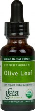 Gaia Herbs Olive Leaf Liquid Herbal Extract, 1 oz.