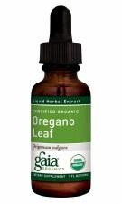 Gaia Herbs Organic Oregano Leaf Liquid Herbal Extract, 1 oz.