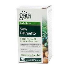 Gaia Herbs Saw Palmetto, 60 vegetarian capsules