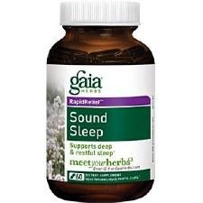 Gaia Herbs Sound Sleep, 60 vegetarian capsules