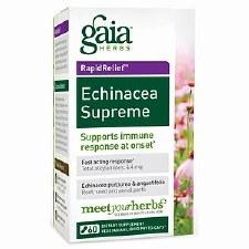 Gaia Herbs Echinacea Supreme, 60 vegetarian capsules