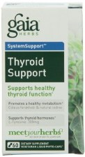 Gaia Herbs Thyroid Support, 60 vegetarian capsules