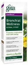 Gaia Herbs Bronchial Wellness Herbal Syrup, 3 oz.
