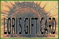 Lori's Natural Gift Card $225