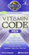Garden of Life Vitamin Code Men's Formula, 240 vegetarian Capsules