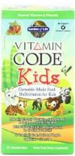 Garden of Life Vitamin Code Kids Chewable Multi, 60 vegetarian capsules