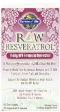 Garden of Life Raw Resveratrol, 60 vegetarian capsules