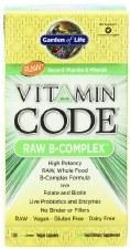 Garden of Life Vitamin Code Raw B-Complex, 120 vegetarian capsules