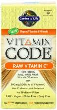 Garden of Life Vitamin Code Vitamin C, 120 vegetarian capsules