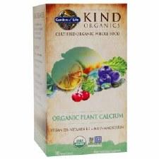 Garden of Life Kind Organics Organic Plant Calcium, 180 vegan tablets