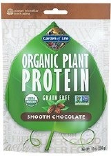 Garden of Life Smooth Chocolate Organic Plant Protein, 9 oz.