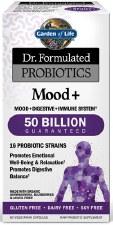 Garden of Life Dr. Formulated Probiotics Mood +, 60 vegetarian capsules