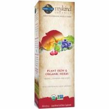 Garden of Life Mykind Organics Plant Iron & Organic Herbs, 8 oz.
