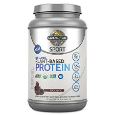 Garden of Life Organic Chocolate Plant Protein Powder, 29.6 oz.