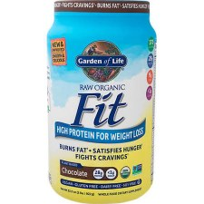 Garden of Life Organic Fit Raw Chocolate Protein Powder, 32.5 oz.
