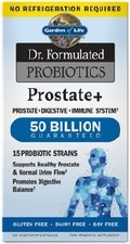 Garden of Life Dr. Formulated Probiotics Prostate+, 60 vegetarian capsules