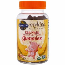 Garden of Life Fruit Flavor Kids Multi Gummies, 120 gummies