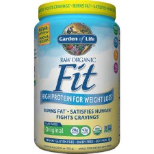 Garden of Life Organic Fit Raw Protein Powder, 30.1 oz.