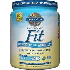 Garden of Life Raw Fit Organic Vanilla Protein Powder, 32.2 oz.