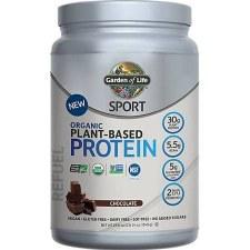 Garden of Life Organic Chocolate Plant Protein Powder, 1.5 oz.