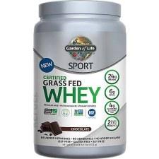 Garden of Life Whey Chocolate Protein Powder, 23.7 oz.