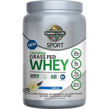 Garden of Life Whey Vanilla Protein Powder, 23 oz.