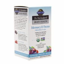 Garden of Life Memory & Focus for Adults 40+, 60 tablets