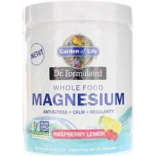 Garden of Life Dr. Formulated Raspberry Magnesium, 14.9 oz.