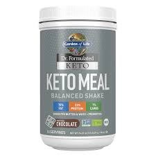 Garden of Life Keto Meal Chocolate Shake, 23.7 oz.