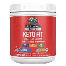Garden of Life Keto Fit Vanilla Shake, 12.52 oz.