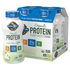 Garden of Life Vanilla Protein Drink, 11 oz.