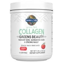 Garden of Life Greens Beauty Collagen Powder, 9.38 oz.