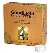 GoodLight Natural Candles Tea Lights Candle, 48 ct.