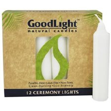 GoodLight Natural Candles Ceremony Candles, 12 ct.
