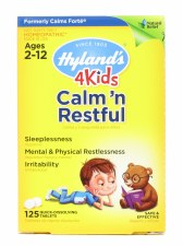 Hyland's 4Kids Calm 'n Restful, 125 quick-dissolving tablets