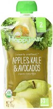 Happy Baby Apples, Kale & Avocados Organic Baby Food, 4 oz