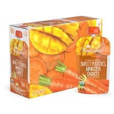 Happy Baby Sweet Potatoes, Mangoes & Carrots, 4 oz.